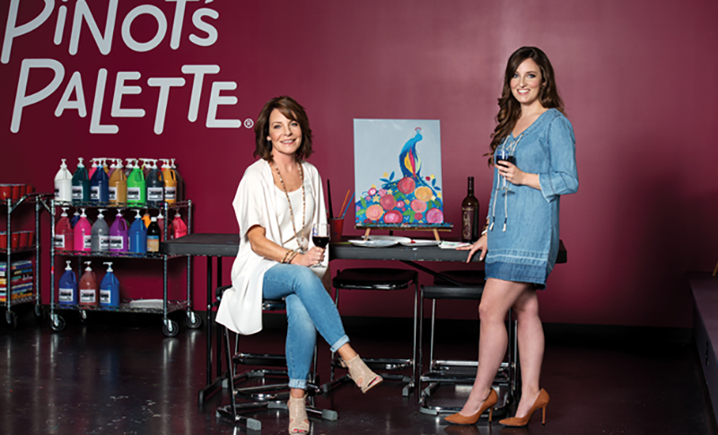 Deb Nemec and her daughter Kelly Flowers have become closer as a result of their franchise business ownership.