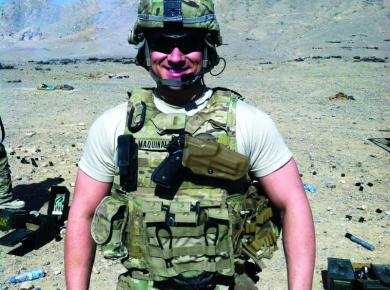 After coming back from Afghanistan, Anthony Maquinalez became a Which Wich franchisee in part thanks to IFA's VetFran program. @OurFranchise shares his story.